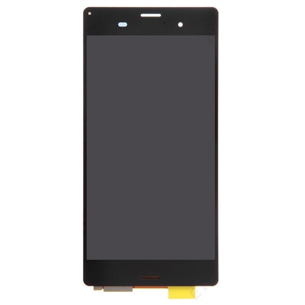 Sony Xperia Z3 LCD displej černý dotykové sklo komplet D6603