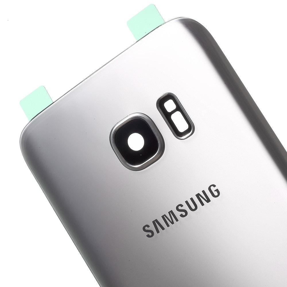 Samsung Galaxy S7 Edge zadní kryt baterie včetně krytu fotoaparátu G935F Silver - stříbrný