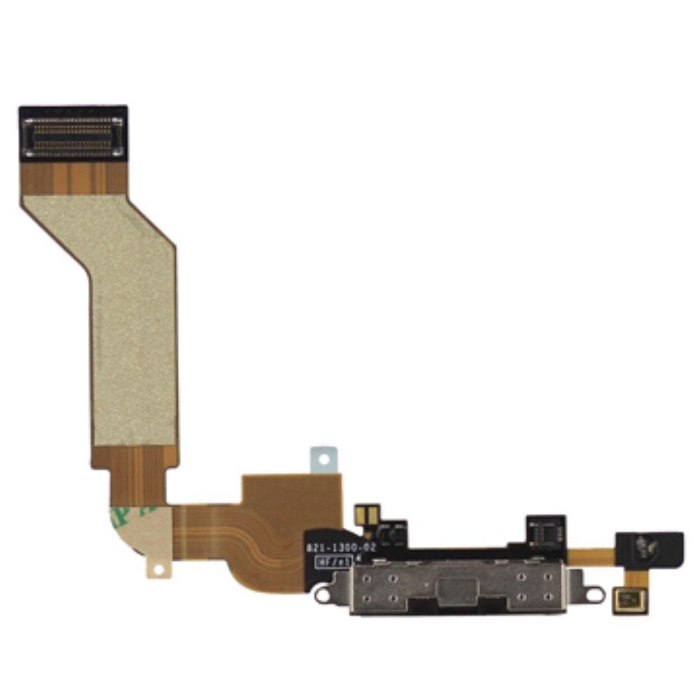 Apple iPhone 4S dock konektor nabíjení mikrofon černý