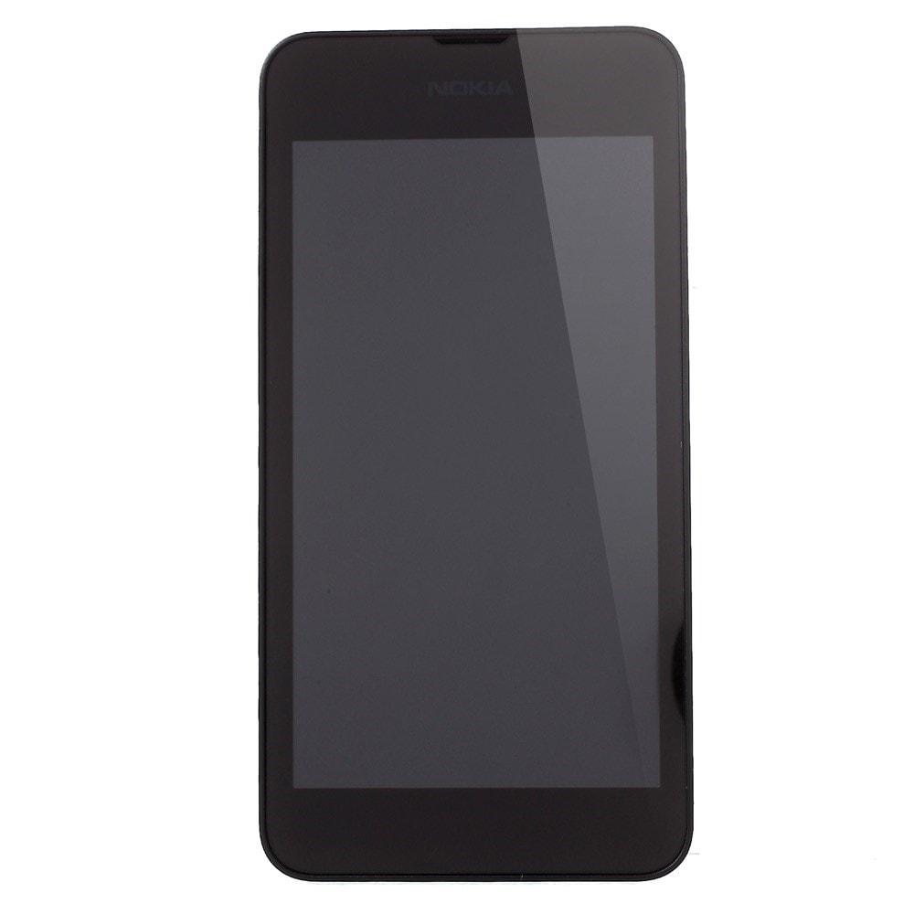 Nokia Lumia 530 LCD displej + dotykové sklo komplet rámeček