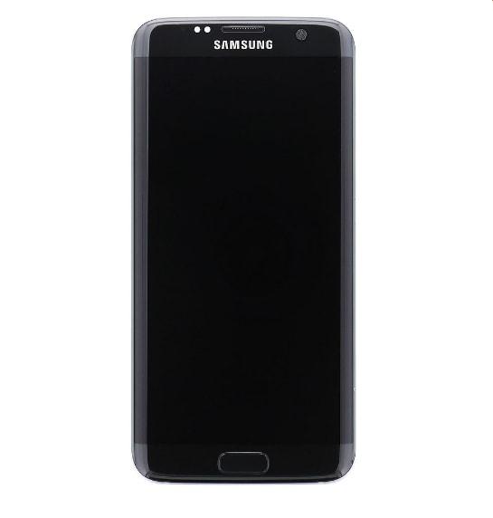 Samsung Galaxy S7 edge Amoled G935 LCD displej sklo komplet přední panel včetně rámečku černý