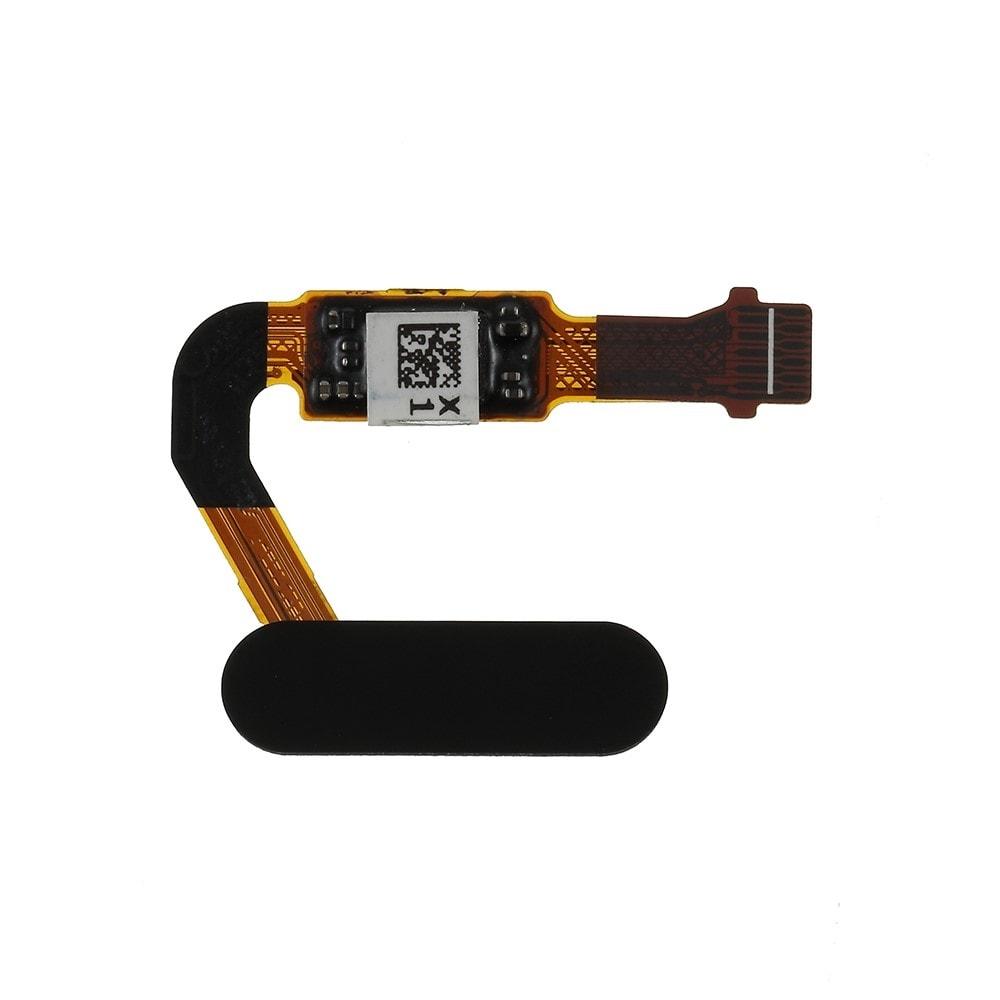 Huawei P20 / P20 Pro senzor otisku prstu home button tlačítko flex touch id černé