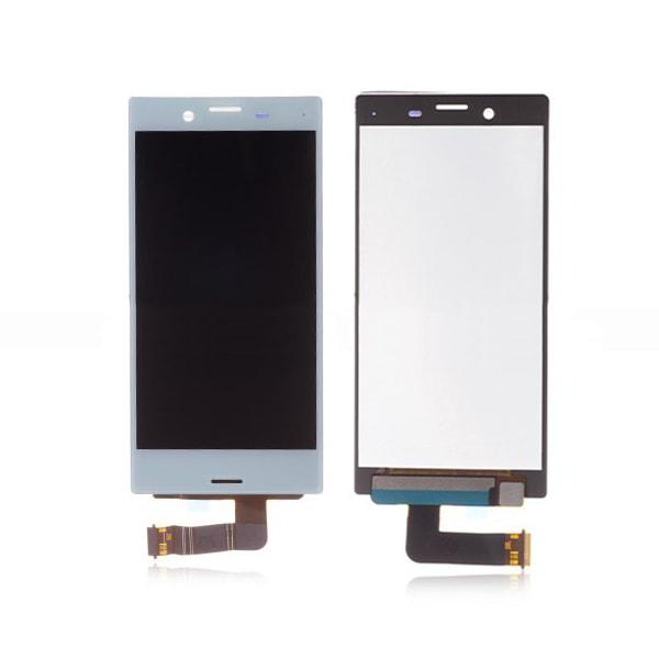 Sony Xperia X Compact LCD displej dotykové sklo komplet přední panel světle modrý F5321