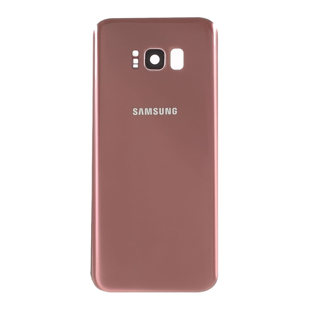 Samsung Galaxy S8 Plus zadní kryt baterie osazený včetně krytky fotoaparátu růžový G955F