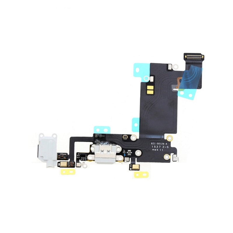Apple iPhone 6S Plus dock flex nabíjení mikrofon bílý