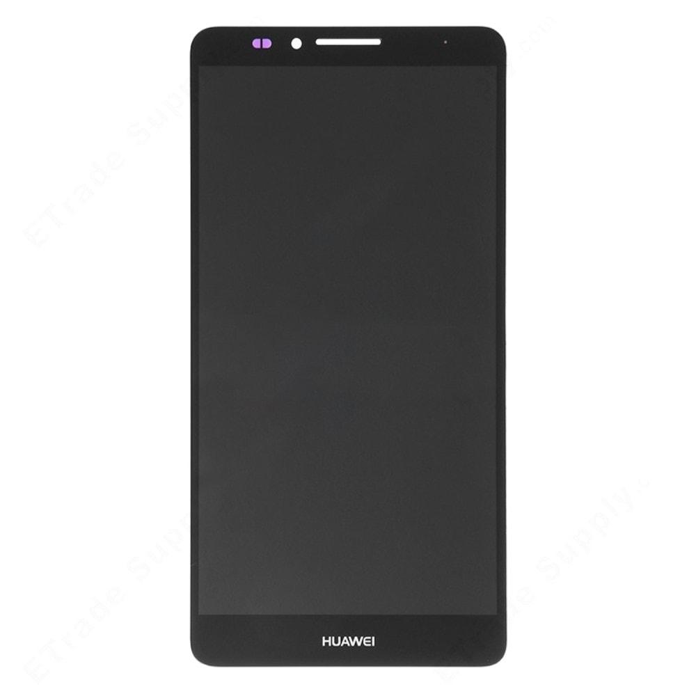 Huawei Mate 7 LCD displej dotykové sklo černé komplet přední panel