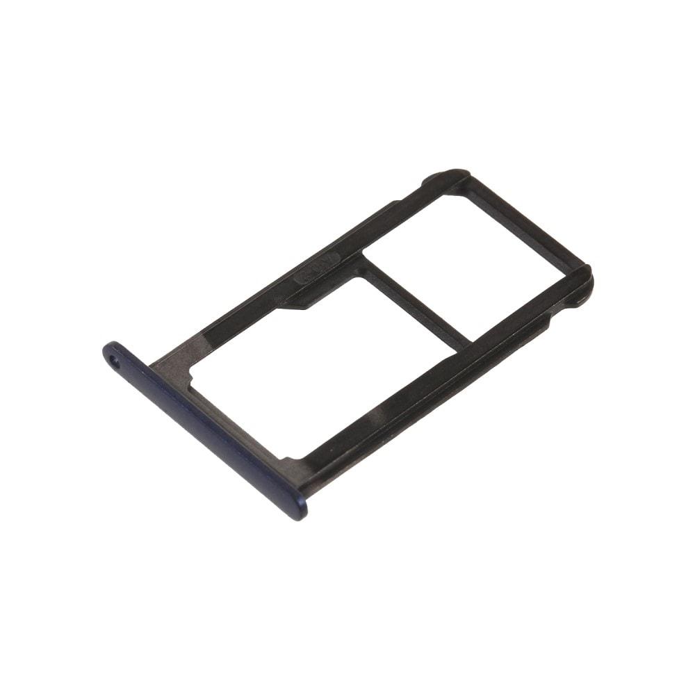 Huawei P10 Lite šuplík na SIM kartu SD tray modrý