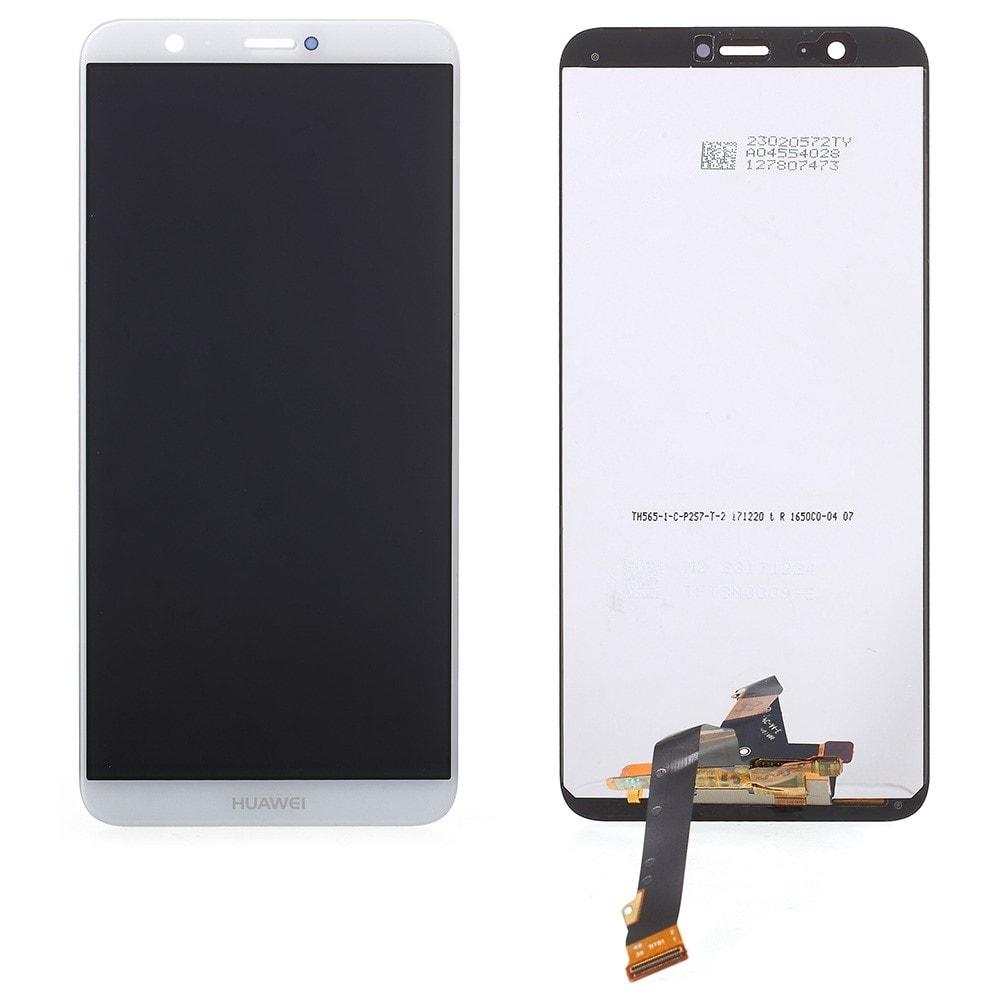 Huawei P Smart LCD displej dotykové sklo bílé komplet přední panel