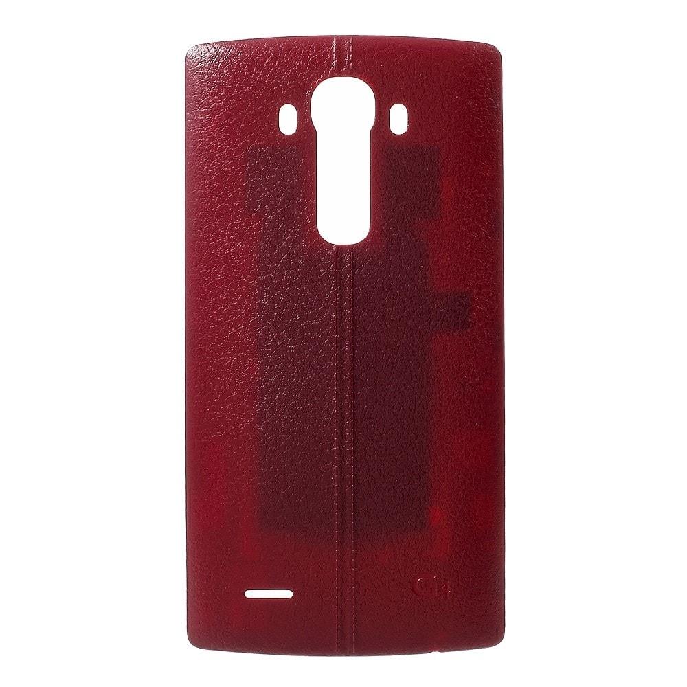 LG G4 Zadní kryt baterie vínově červený H815