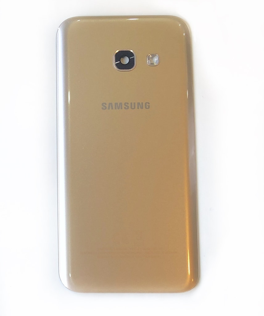 Samsung Galaxy A3 2017 zadní kryt baterie originální A320F zlatý použitý