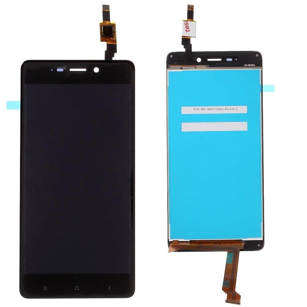 Xiaomi Redmi 4 LCD displej dotykové sklo komplet černý