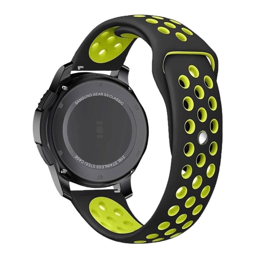 Samsung Gear S3 Frontier řemínek pásek sportovní Nike černo zelený