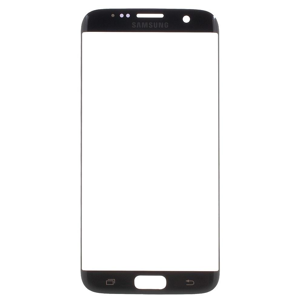 Samsung Galaxy S7 Edge přední krycí sklo displeje tmavě černé G935