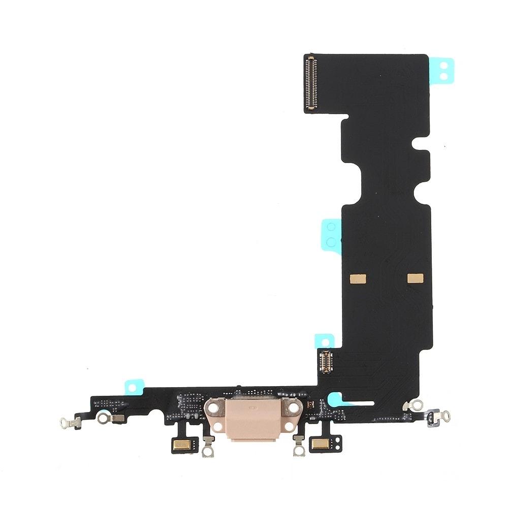 Apple iPhone 8 Plus dock konektor nabíjení napájecí flex lightning port sluchátka zlatý