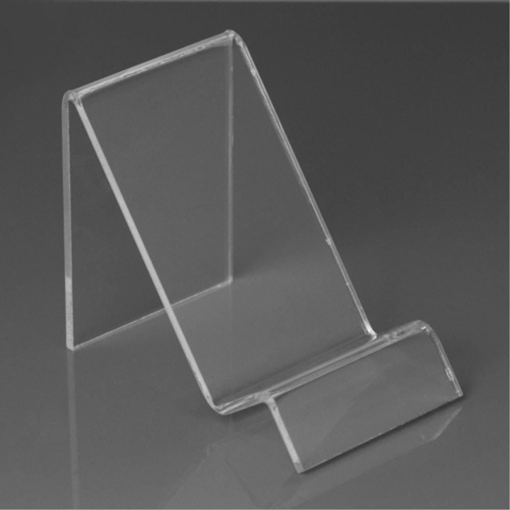 Plastový stojánek průhledný transparentní pro mobilní telefon