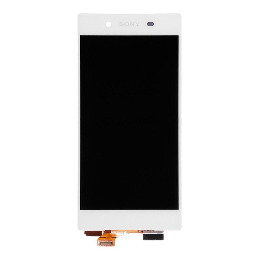 Sony Xperia Z5 LCD displej dotykové sklo bílý komplet (originál lcd)