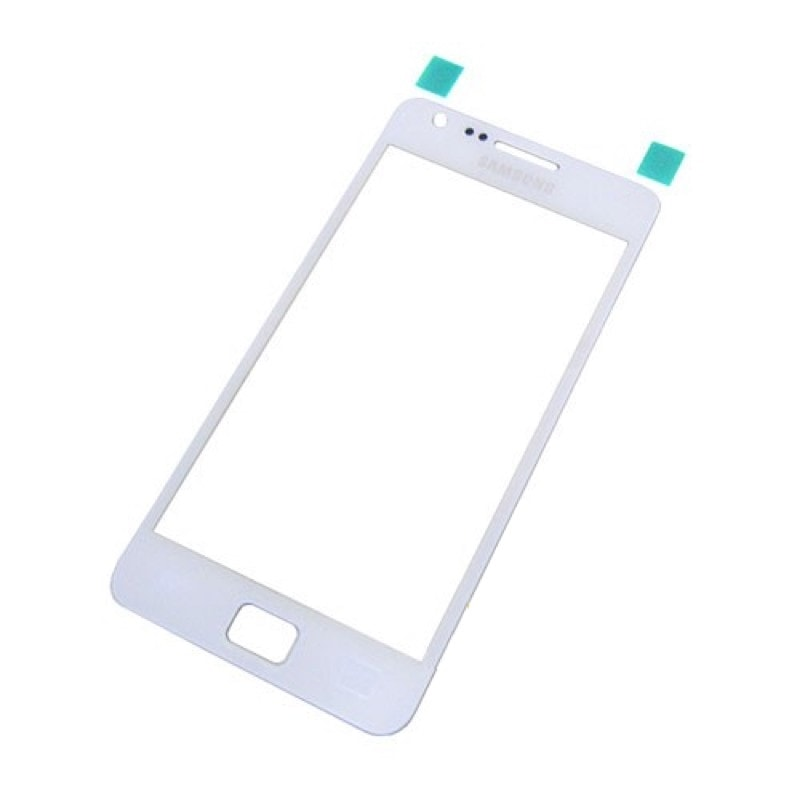 Samsung Galaxy S2 krycí sklo displeje bílé i9100