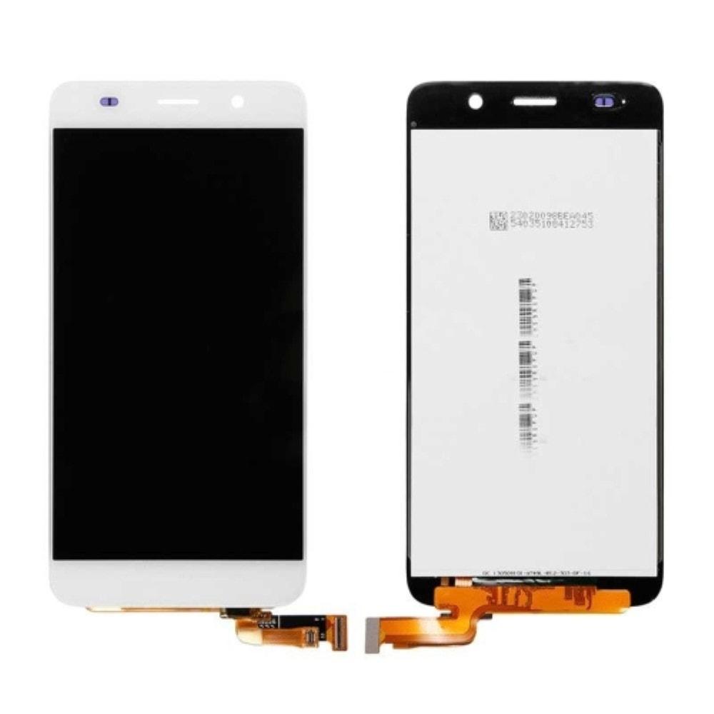 Huawei Honor 4A / Y6 LCD displej dotykové sklo bílé