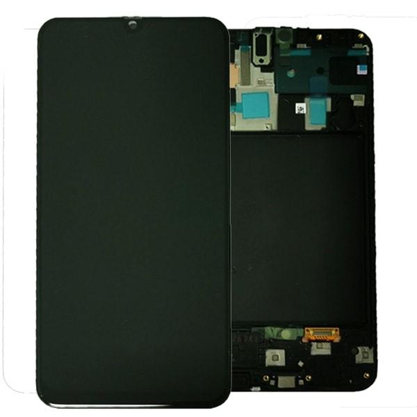 Samsung Galaxy A70 LCD displej dotykové sklo A705 včetně rámečku