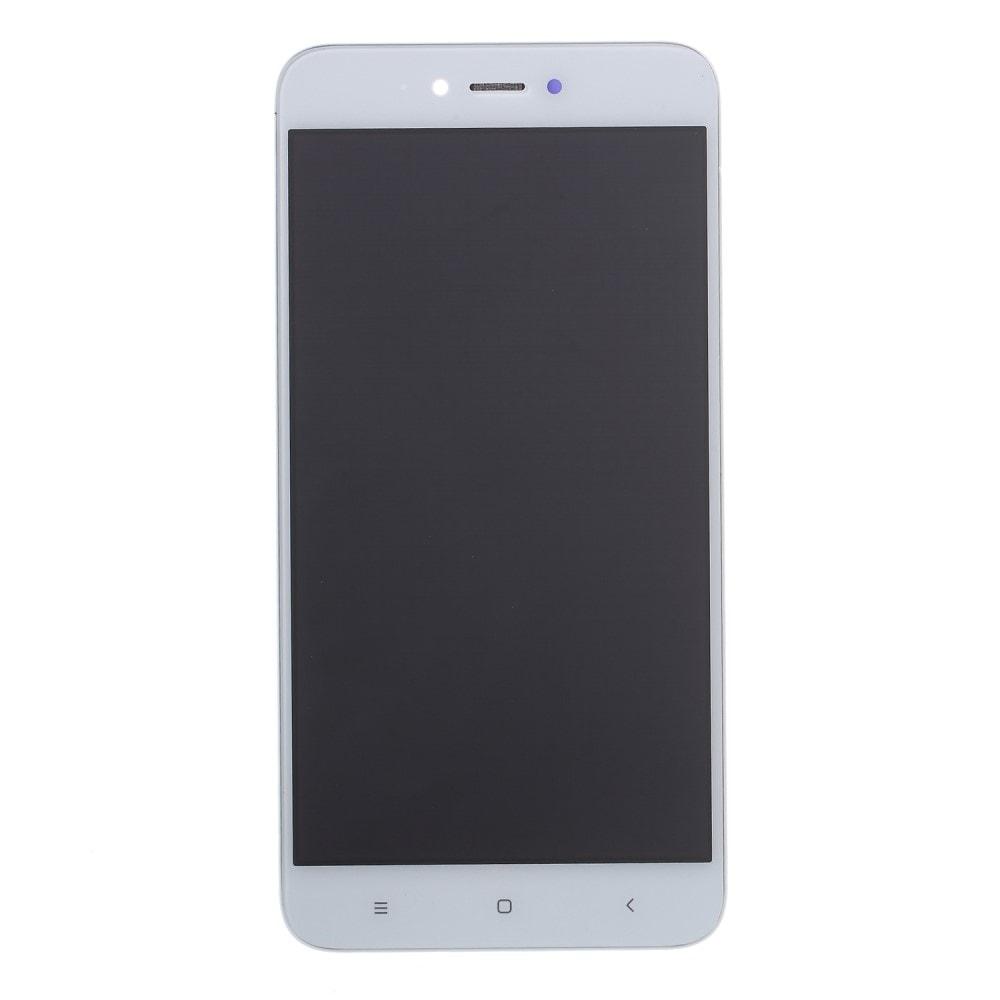 Xiaomi Redmi Note 5A LCD displej dotykové sklo bílé včerně rámečku