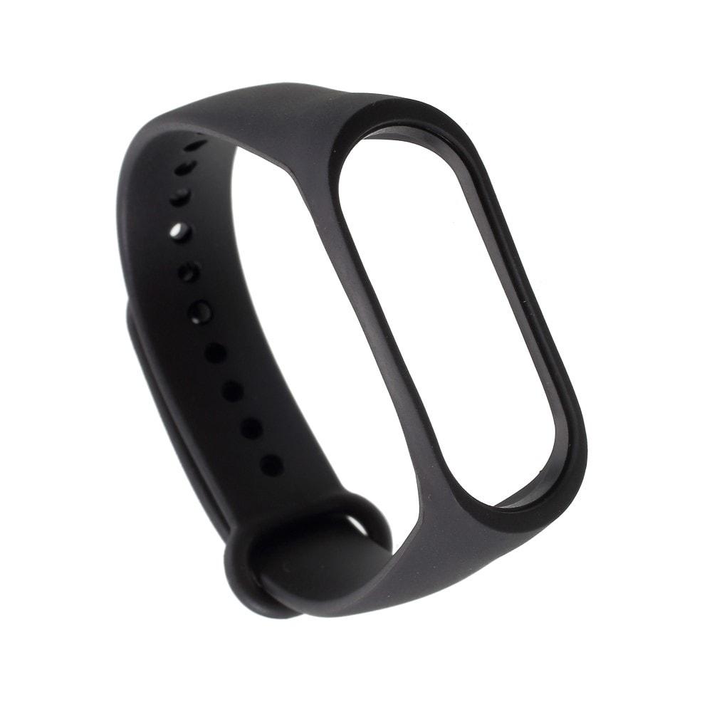 Xiaomi Mi Band 3 pásek na ruku řemínek silikon černý