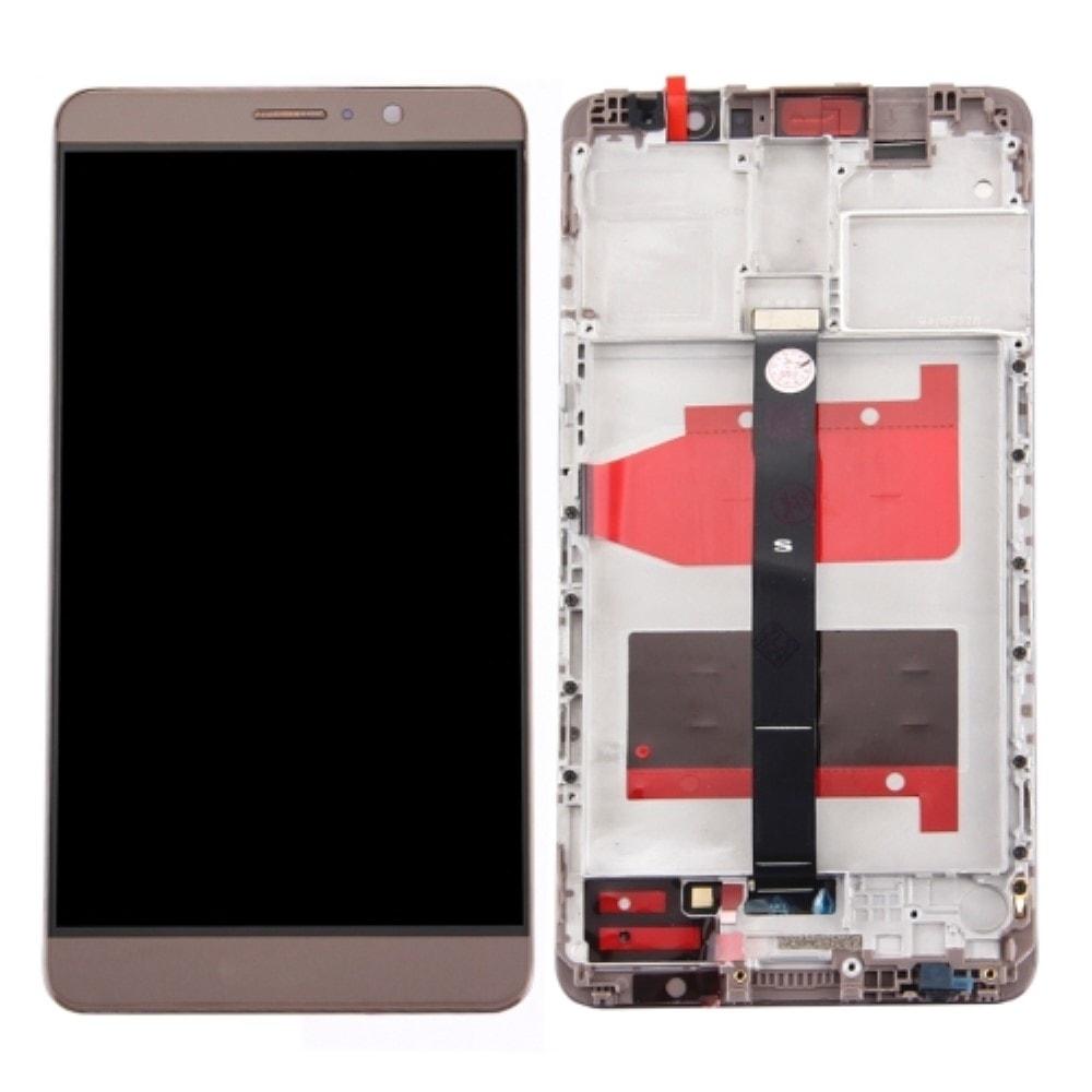 Huawei Mate 9 LCD displej dotykové sklo včetně rámečku mocha gold