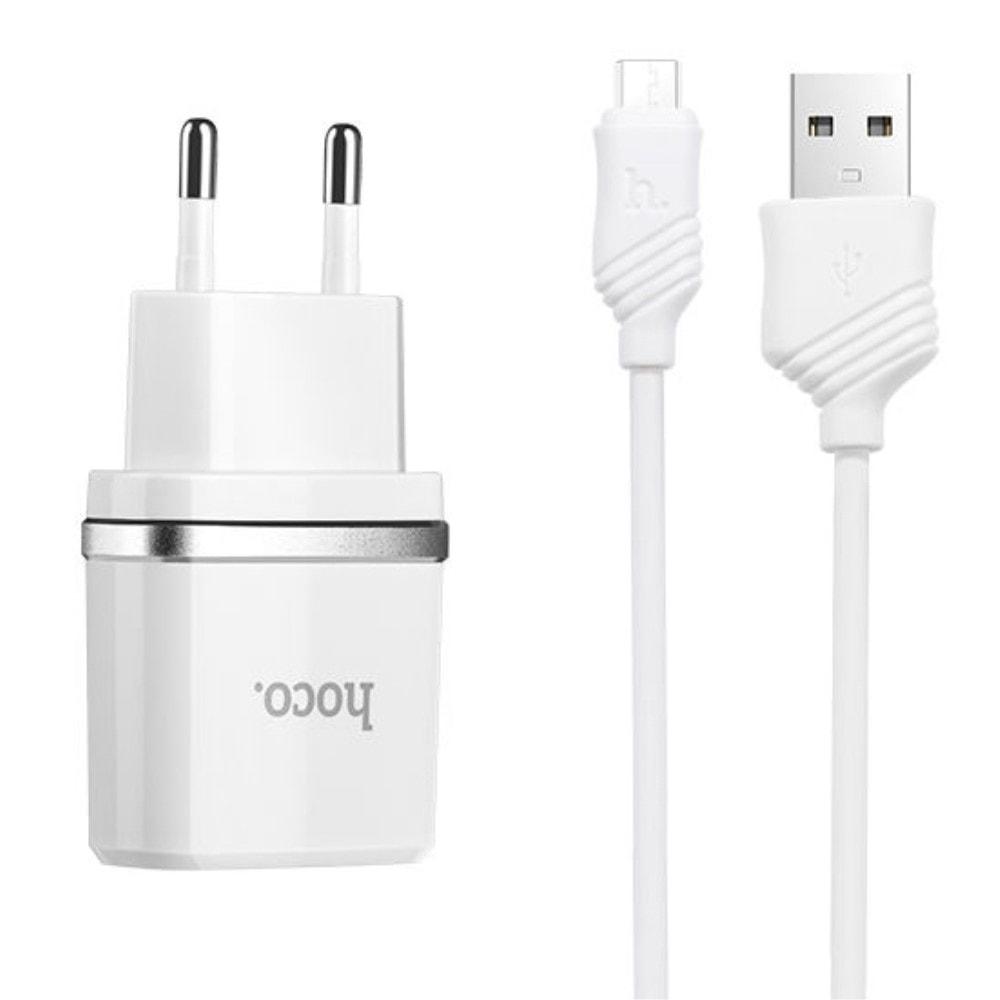 Adaptér nabíječka + kabel micro USB HOCO C11 1A