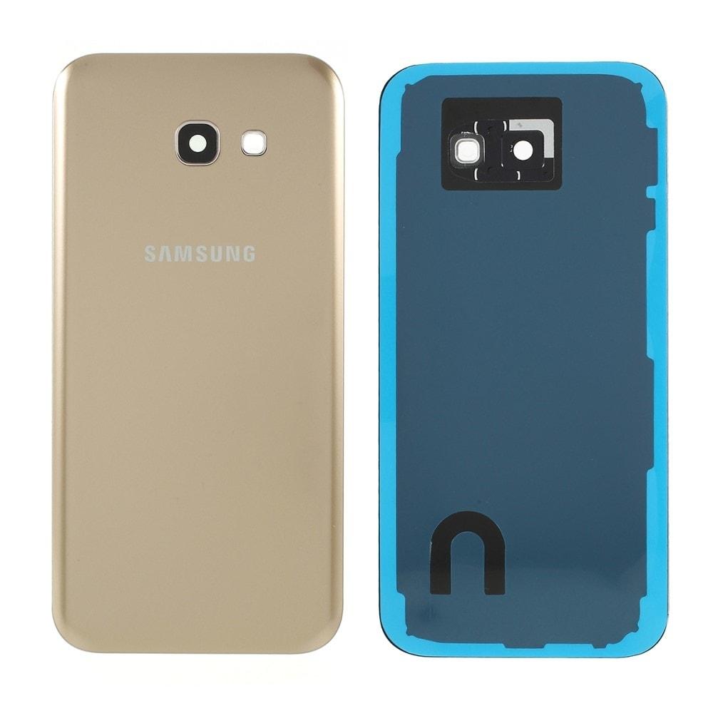 Samsung Galaxy A5 2017 zadní kryt baterie zlatý osázený včetně krytky fotoaparátu A520F