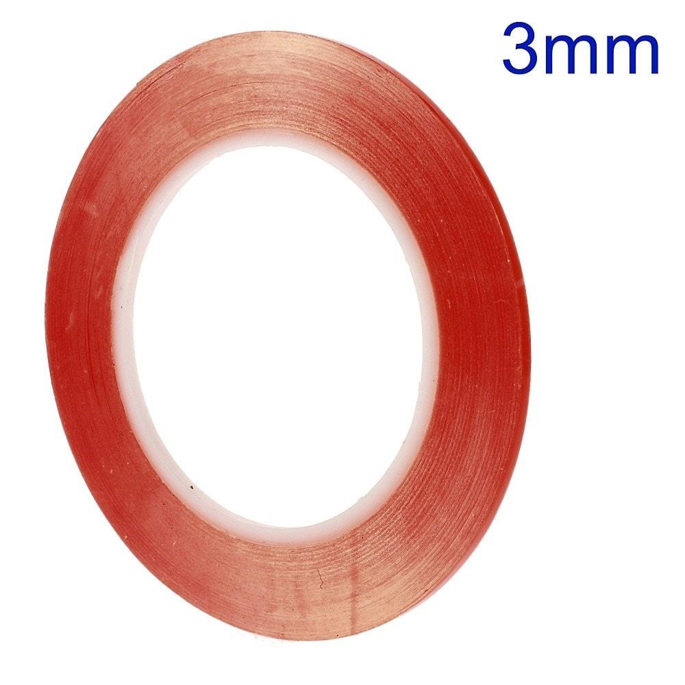 Lepící oboustranná páska 3M průhledná 3mm kotouč 33m