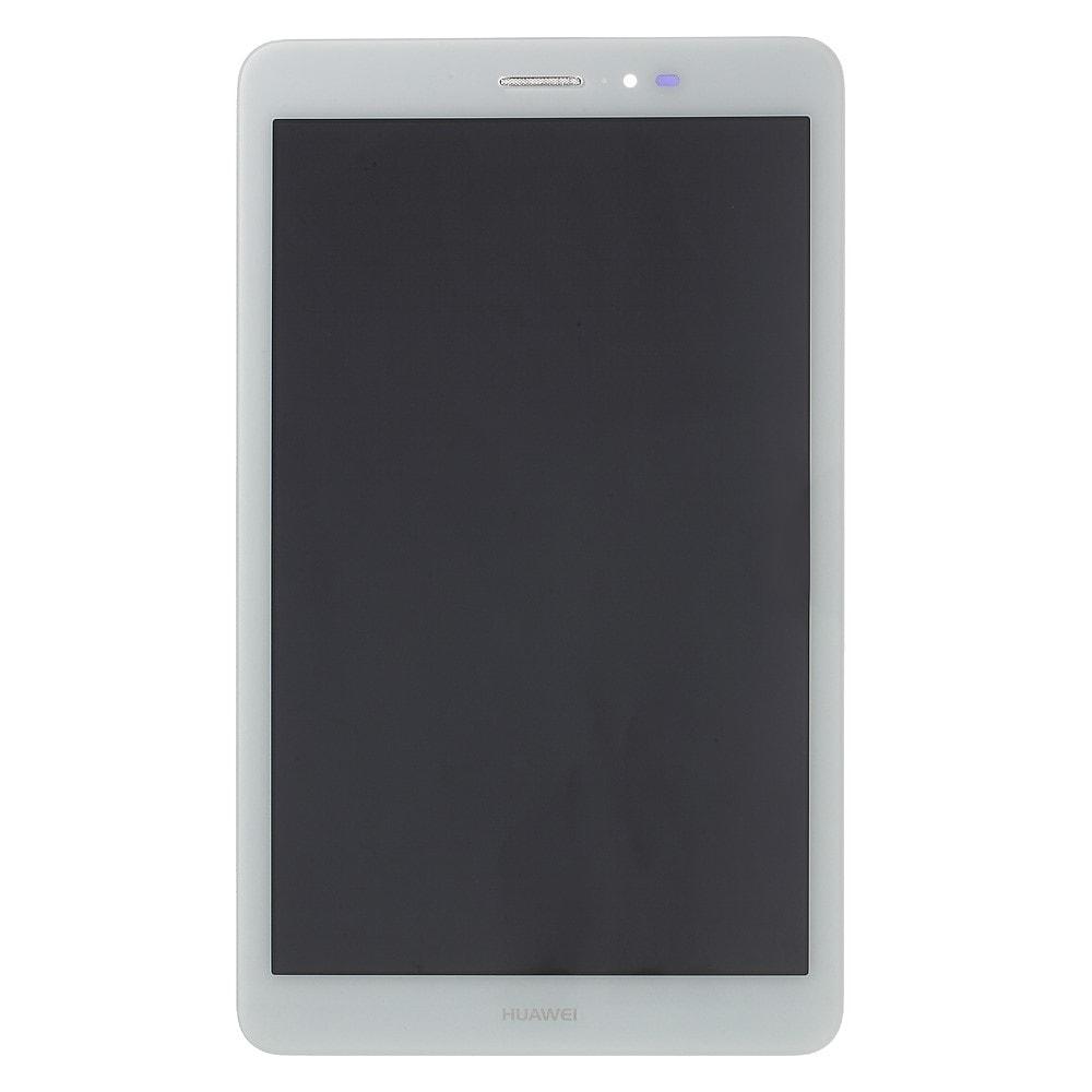 Huawei MediaPad T1 8.0 LCD displej dotykové sklo bílé komplet přední panel T1-821l/S8-701u