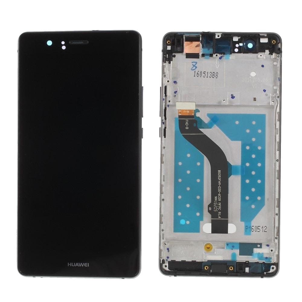 Huawei P9 Lite LCD displej dotykové sklo komplet včetně rámečku černý