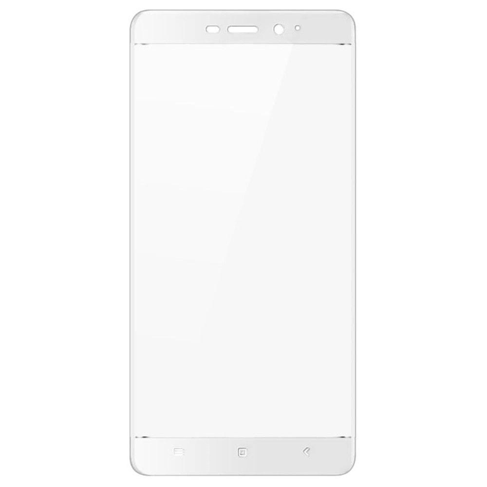 Xiaomi Redmi 4 / Prime 3D Ochranné tvrzené sklo na displej bílý