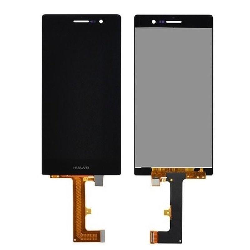 Huawei P7 LCD displej černý + dotykové sklo komplet