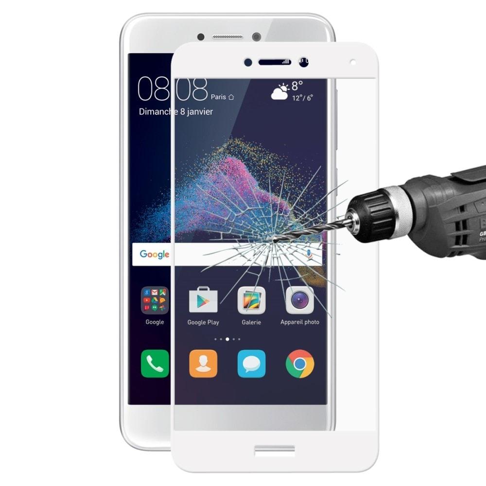 Huawei P9 Lite 2017 / Honor 8 Lite Ochranné tvrzené sklo 3D bílá