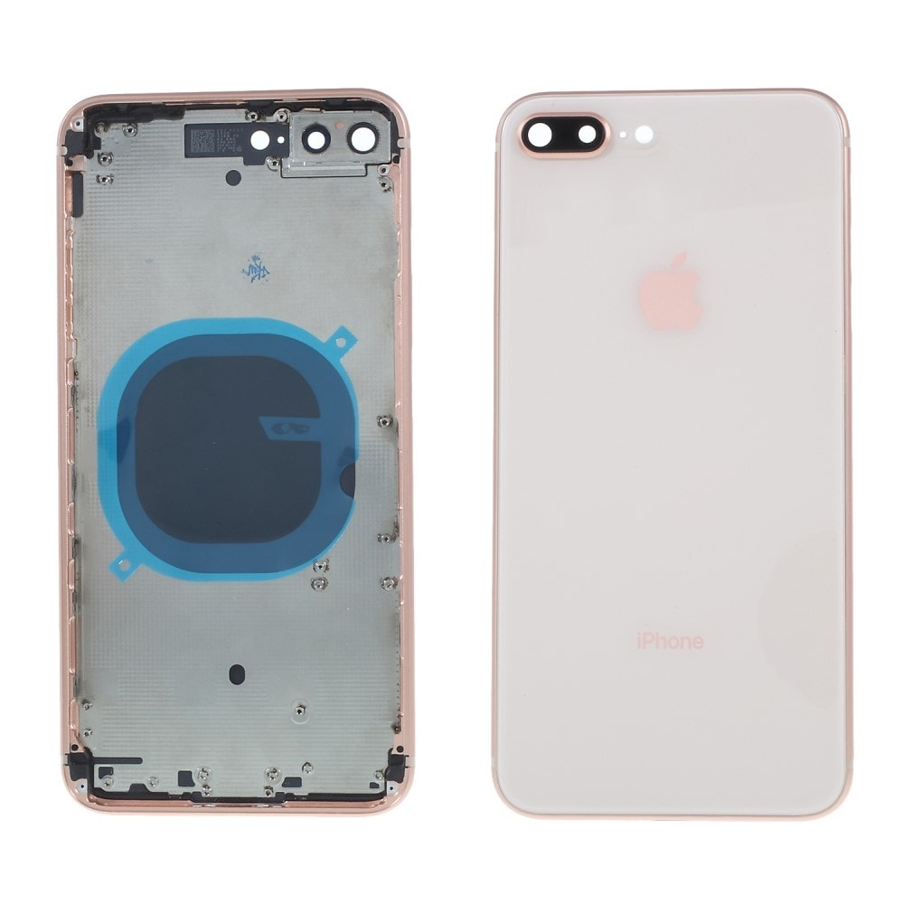 Apple iPhone 8 Plus zadní kryt baterie včetně středového rámečku telefonu zlatý blush gold
