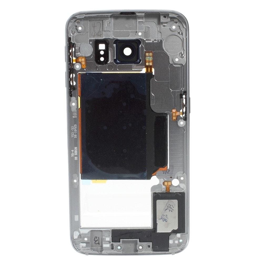 Samsung Galaxy S6 Edge střední kryt rámeček šedý G925F