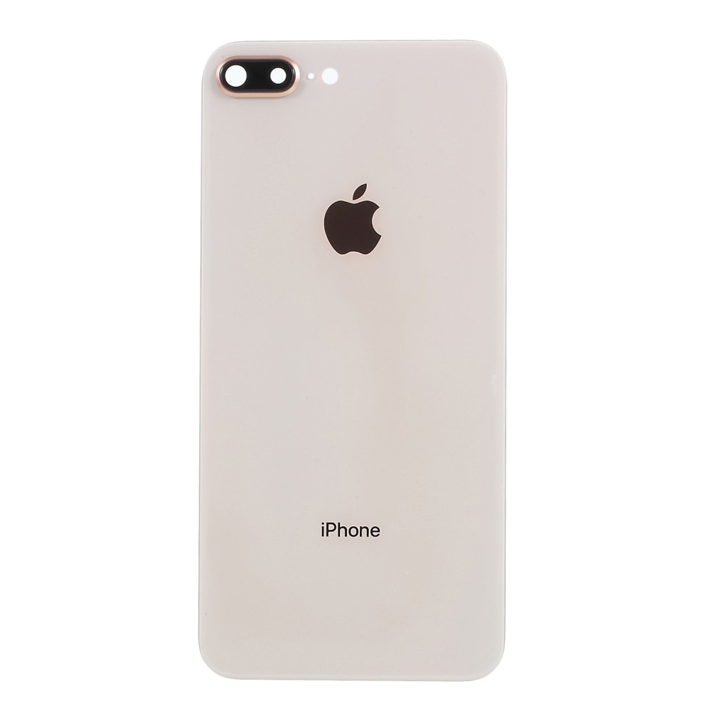 Apple iPhone 8 Plus zadní skleněný kryt baterie růžový včetně krytky fotoaparátu rose blush gold