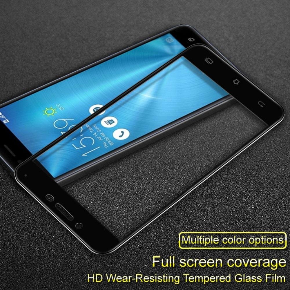 Asus Zenfone 3 Max ZC553KL ochranné tvrzené sklo 3D černé