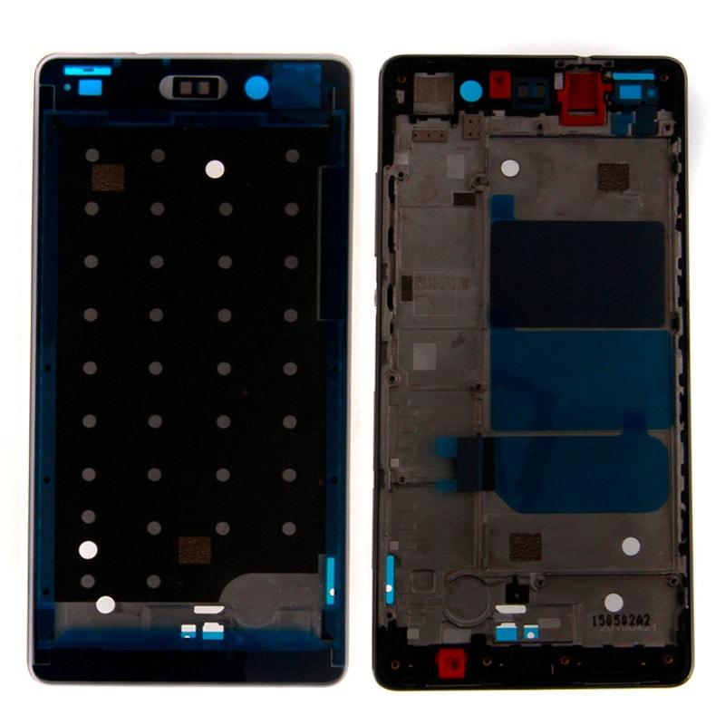 Huawei P8 Lite střední rámeček LCD černý