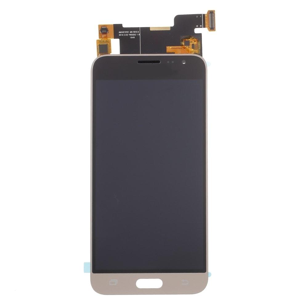 Samsung Galaxy J3 2016 LCD TFT displej dotykové sklo zlaté J320F