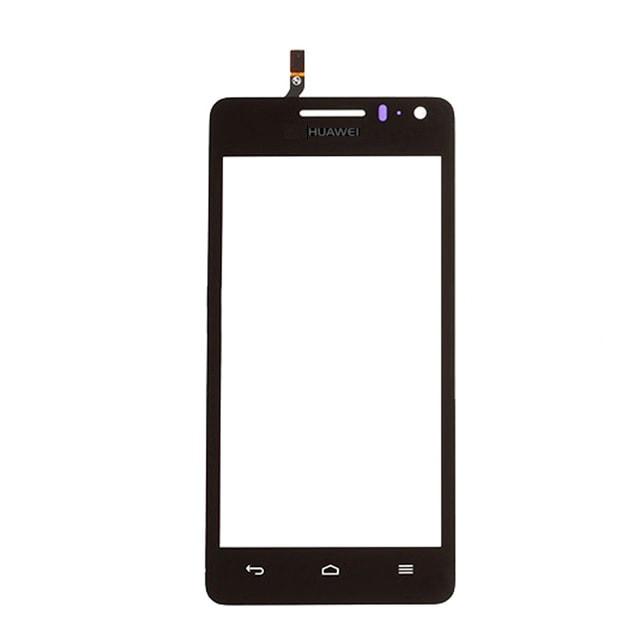Huawei Ascend G600 dotykové sklo černé