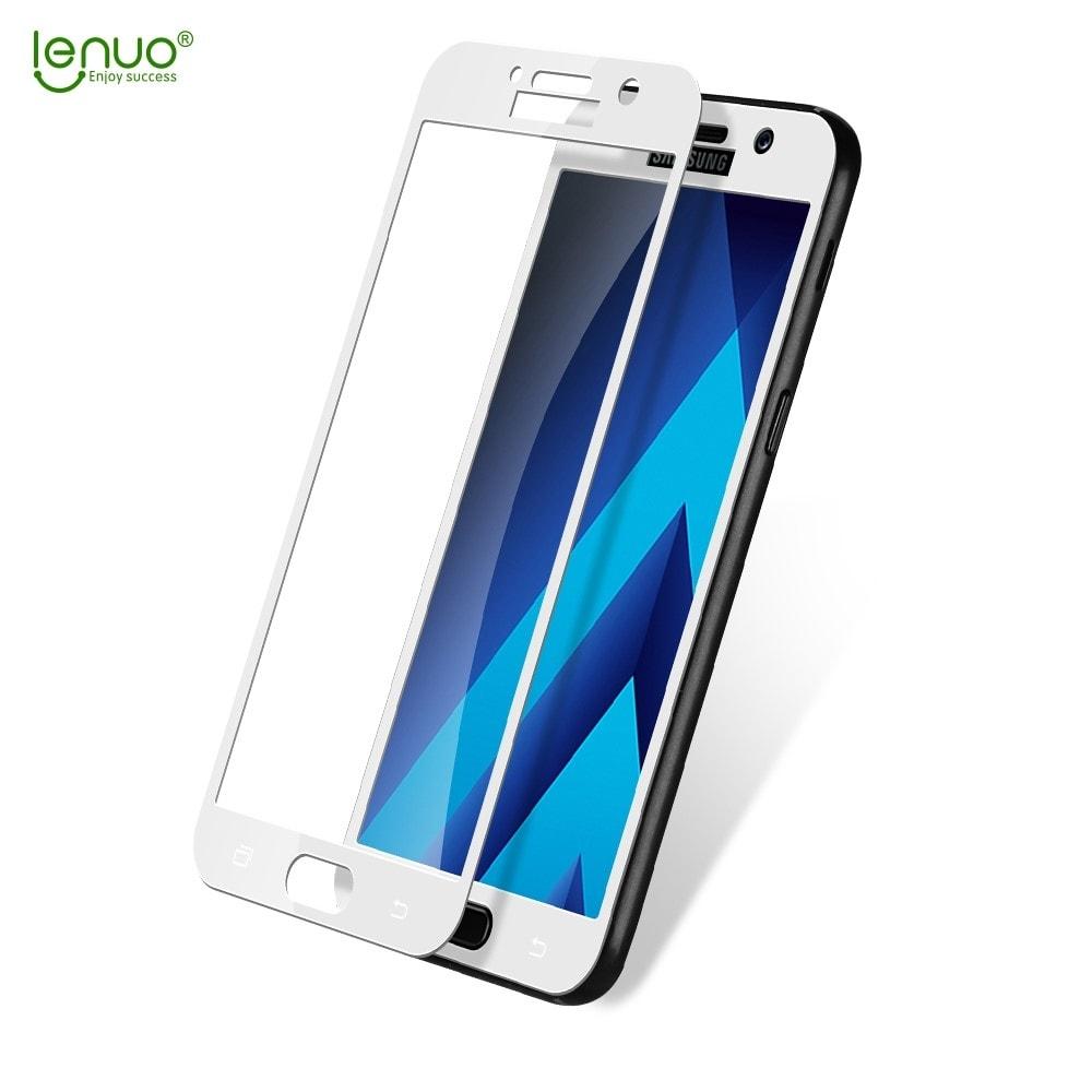Samsung Galaxy A5 2017 ochranné tvrzené sklo bílé A520f
