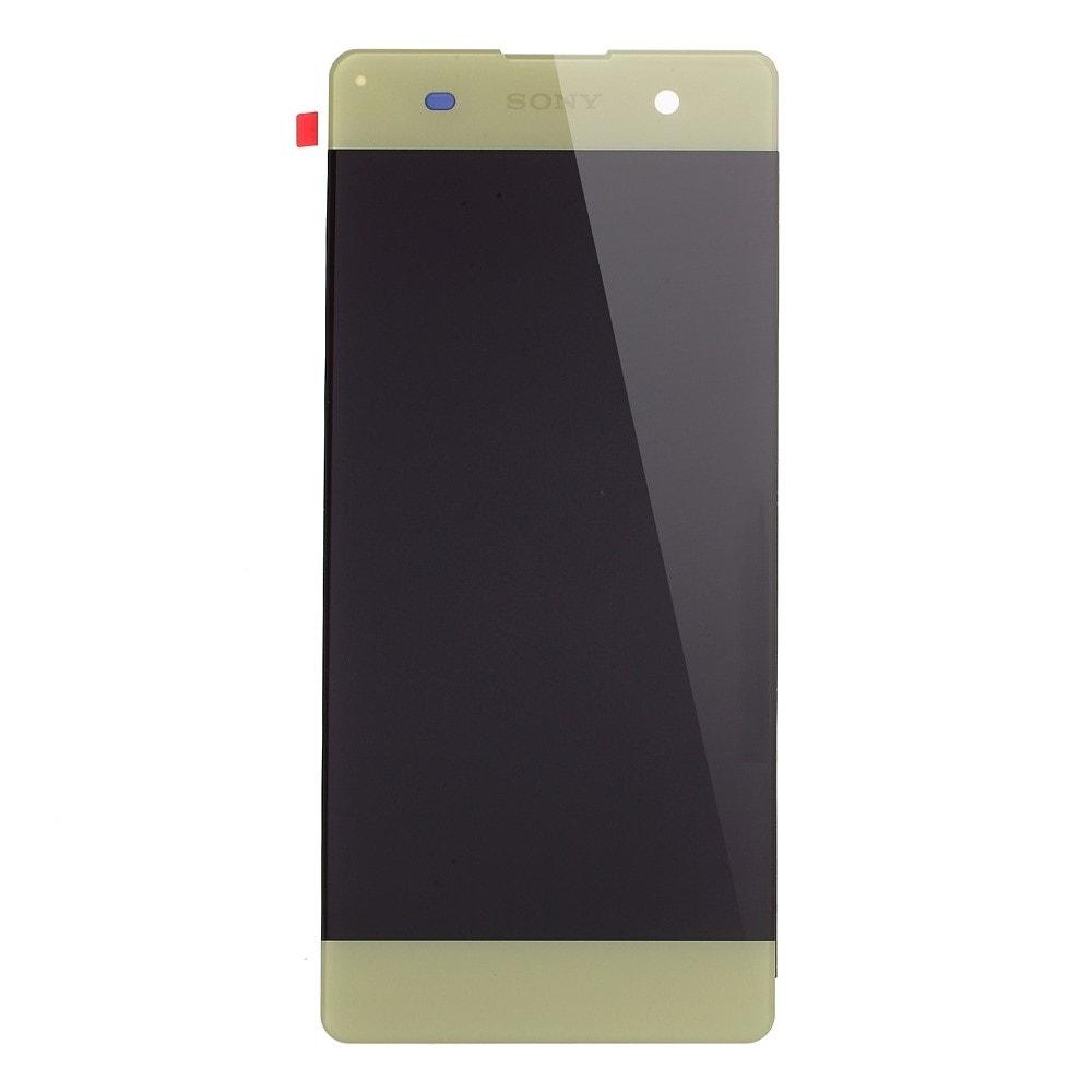 Sony Xperia XA LCD displej komplet dotykové sklo limetkové včetně rámečku F3111