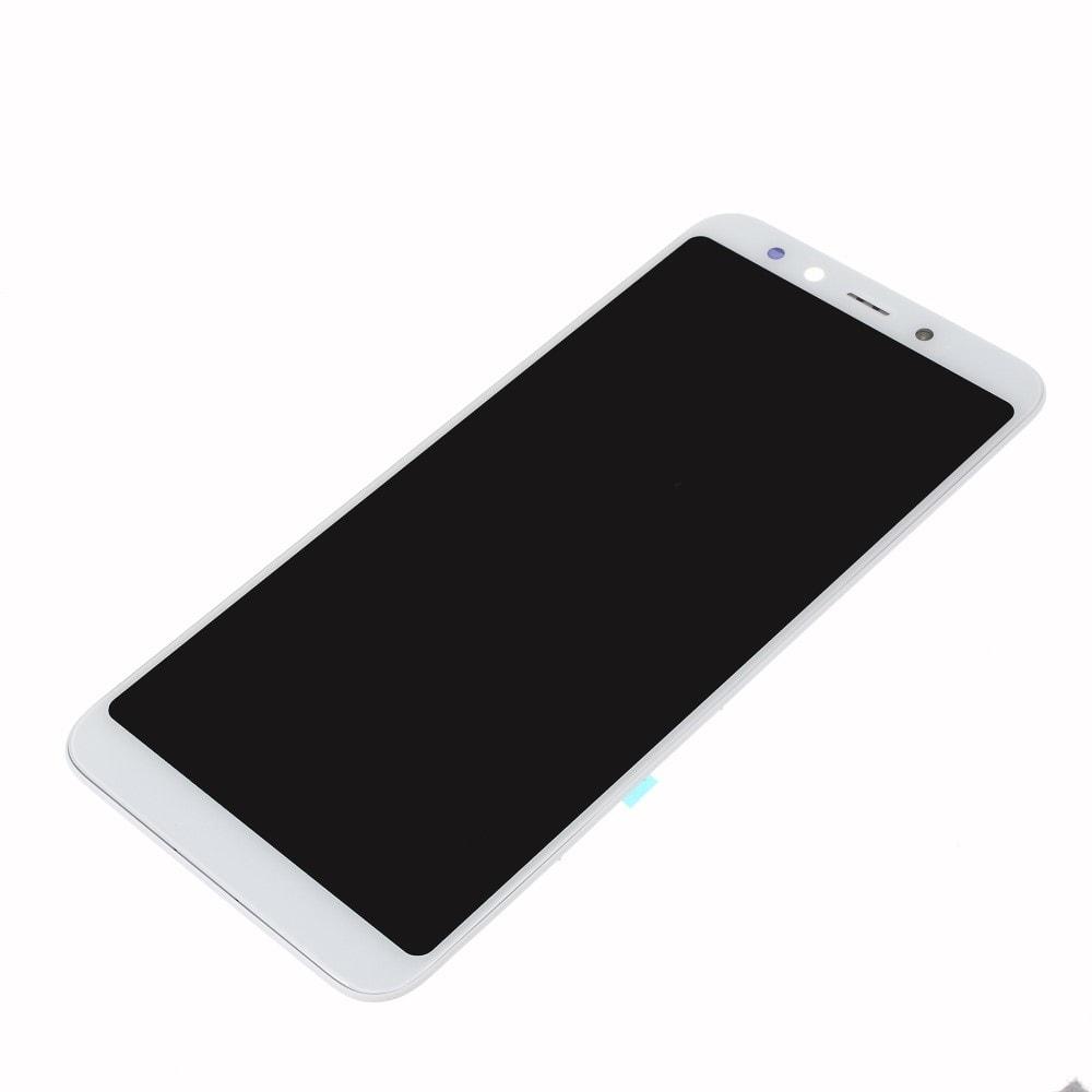 Xiaomi Mi A2 LCD displej dotykové sklo komplet přední panel s rámečkem bílý
