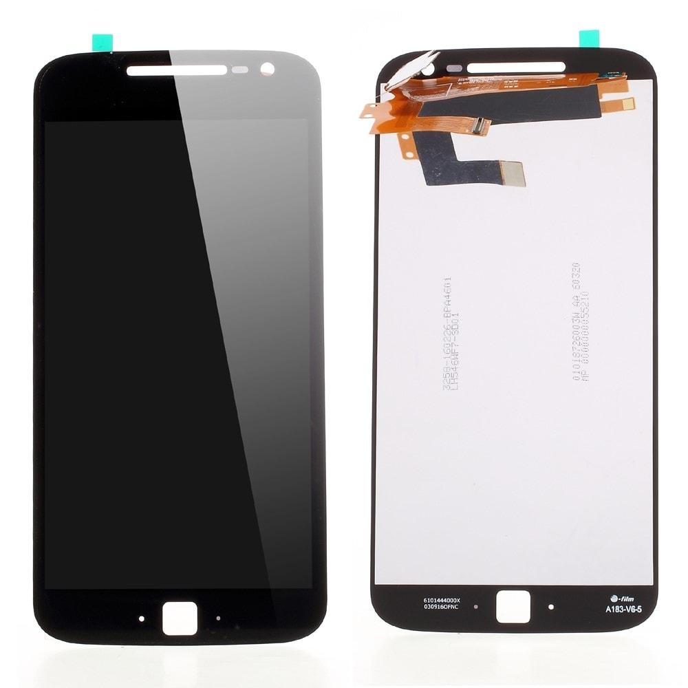 Motorola Moto G4 Plus LCD displej dotykové sklo komplet černý