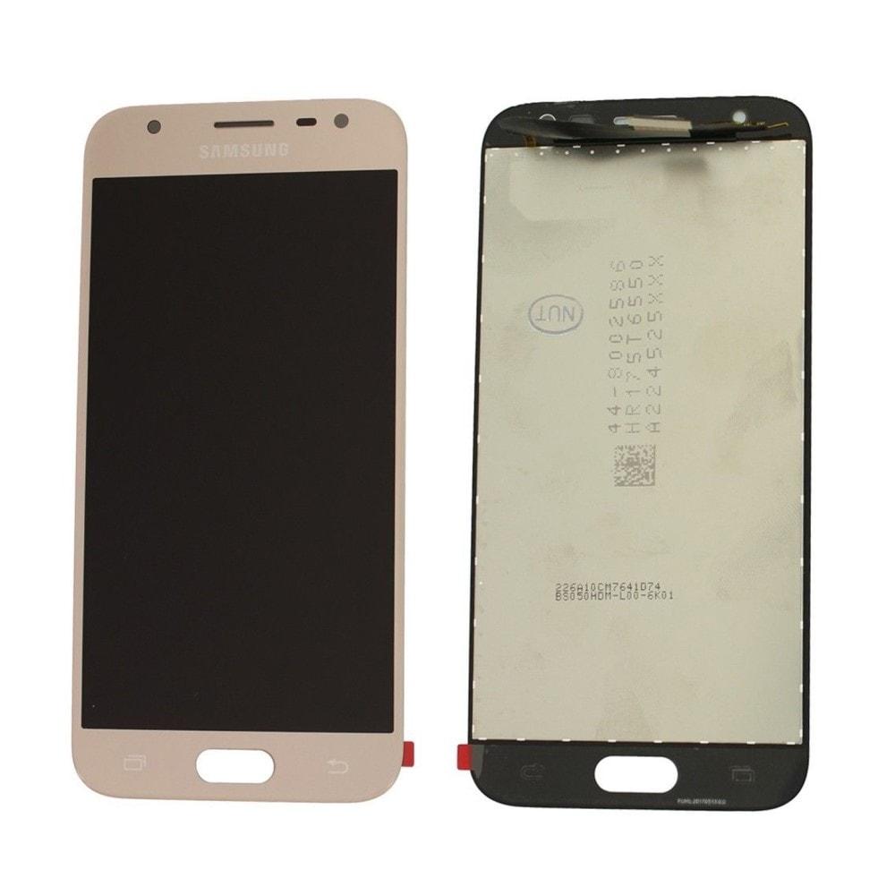 Samsung Galaxy J3 2017 LCD displej dotykové sklo zlaté J330 / J330F