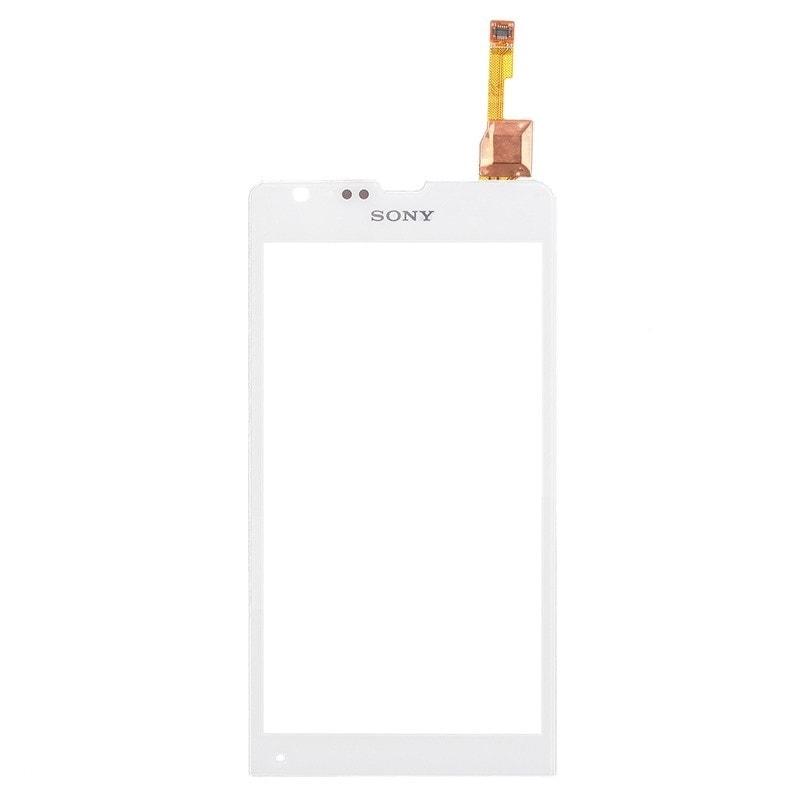 Sony Xperia SP dotykové sklo bílé C5303