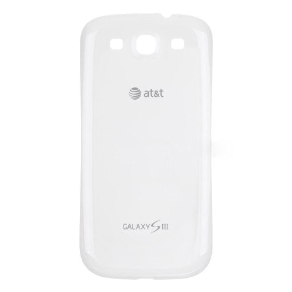 Samsung Galaxy S3 zadní kryt baterie bílý i9300 logo AT&T