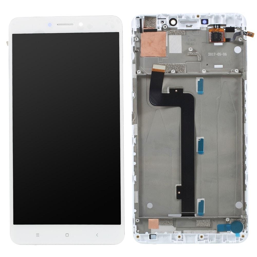 Xiaomi Mi Max 2 LCD displej dotykové sklo bílé rámeček