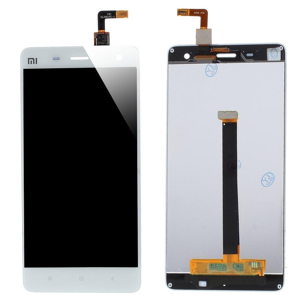 Xiaomi Mi4 LCD displej bílý + dotykové sklo komplet